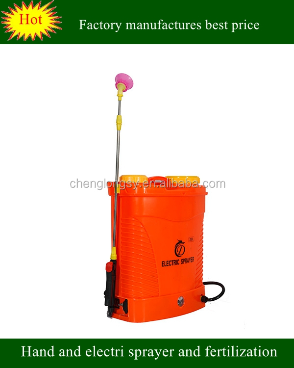 20L agriculture rechargeable electric backpack sprayer