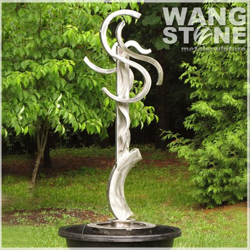 Metal Garden Landscape Outdoor Large Abstract Sculpture