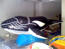 inflatable giant advertising ocean whale animal for sale
