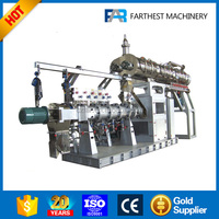 Stainless Steel Twin Screw Aquatic Fish Feed Extruder