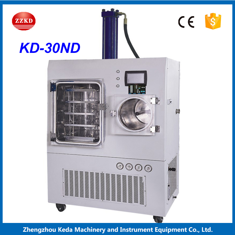 KD-30ND Large Capacity Vacuum Freeze Functional Commercial Fruit Drying Machine