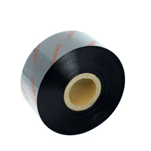 25mm * 100m Black color Hot Foil Coding Foil / Hot Stamping Foil / Thermal Ribbons