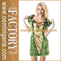 Wholesale Woman Winter Furry Party Costume