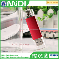 Colorful OTG USB flash drive for Android and PC dual port 16gb