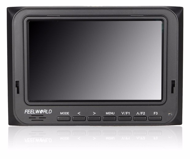 FEELWORLD 5 inch battery powered HDMI monitor 5D II Camera Mode