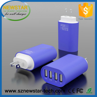 Wholesale High speed 32.5W 6.5A 4 port usb wall charger