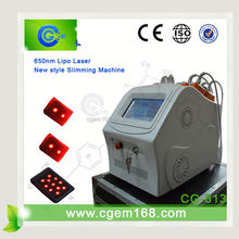 CG-813 12pads 650nm cold laser slimming equipment for salon use