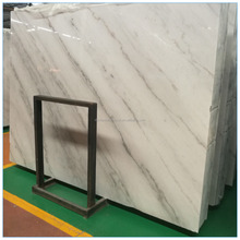 cheapest chian white marble with grey veins white marble floor design