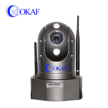 Built-in battery portable wireless vedio transmission mini dome h.264 ptz wifi ip camera