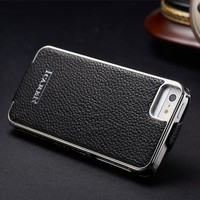 for iphone5 genuine leather case cover