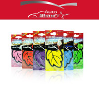 Auto Shine 6 perfumed fragrance Mixed Hanging Paper Car Air Freshener for Car, Home & Boat