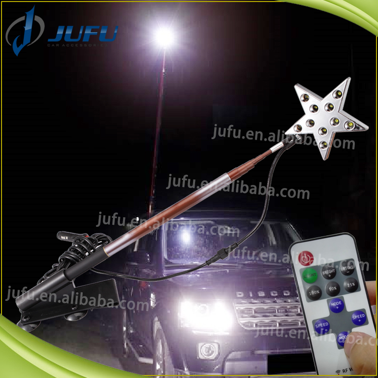 12V outdoor light with remote hook bulb for camping travelling telescopic fishing rod emergency camping light