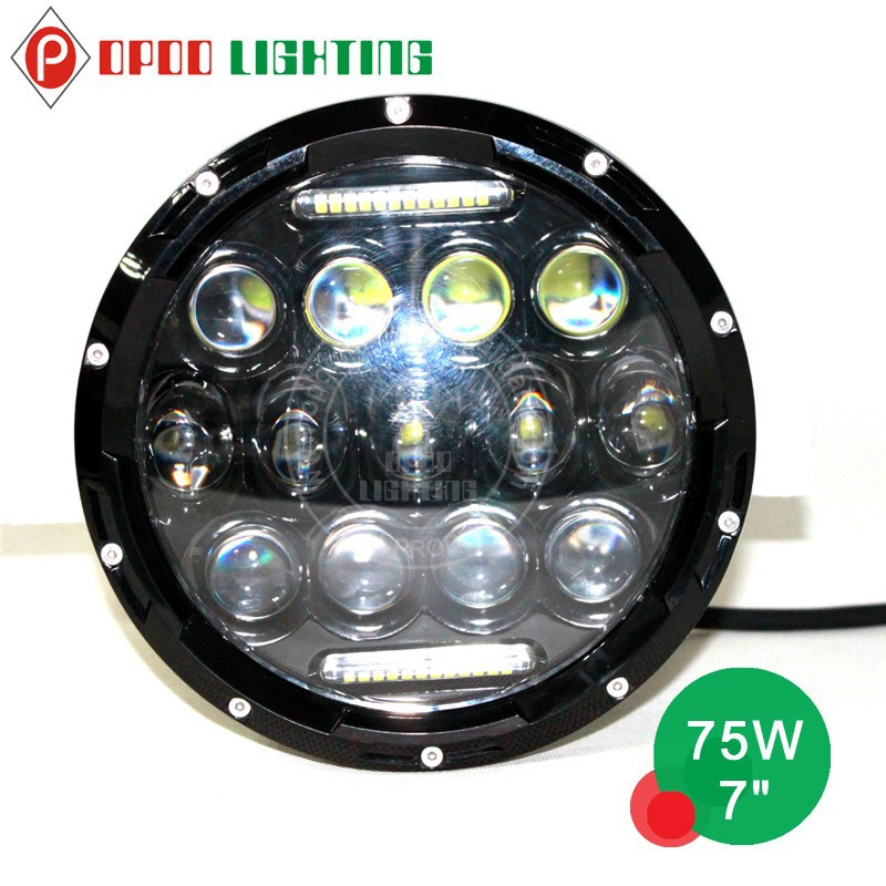 led headlights 75w led work lights 75w jeep wrangler led headlight. Cars Review. Best American Auto & Cars Review