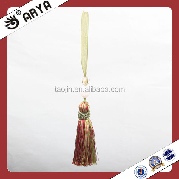 Ribbon Decorative Mini Tassel Handmade Mini Tassels Silk Tassels