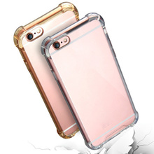 Wholesale Transparent anti Shock Acrylic Mobile Phone Cases For iPhone X 8 8 Plus