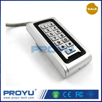 standalone waterproof outdoor access control use with magnetic lock PY-S600