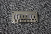 8 string chrome guitar bridge