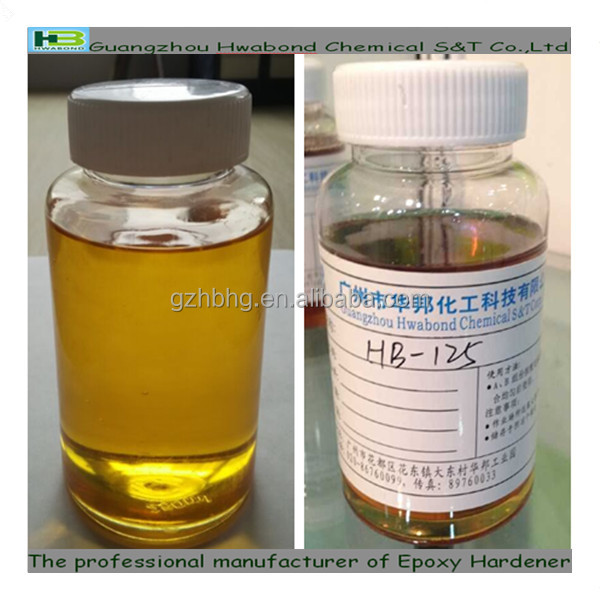 Non slovent polyamide adhesive epoxy curing agent HB-125
