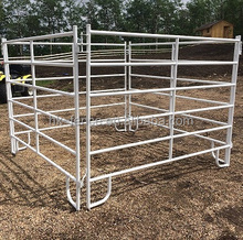 Portable livestock farm panel,1.8X2.1m galvanized/PVC coated horse stable,used cattle corral panels from ISO9001 factory
