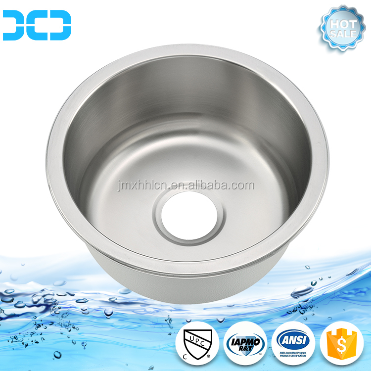 Round Shape Undermount Kitchen Sink D420A