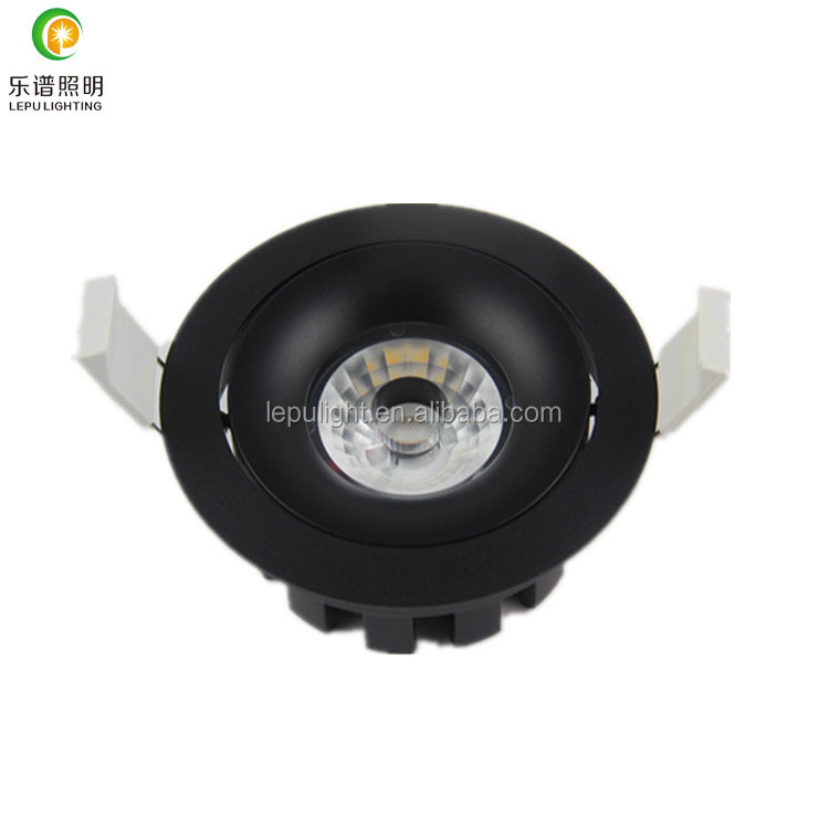 classical model dimmable cob led downlight 2700k 3000k 4000k with ip44 cut hole 83mm high CRI>90