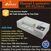 230mm paper width Thermal pouch film laminator photo