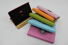 360 rotating PU leather tablet covers for amazon kindle fire leather case