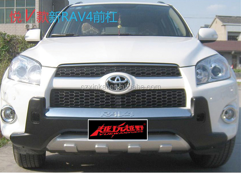 New product car accessory Plastic Front and rear bumper guard for TOYOTA RAV4 2012 from china supplier