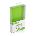 Customized rectangular clear PVC plastic box for power bank
