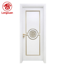 Strong panel design drawing room composite wood door
