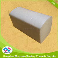 Single Fold Raw Materials Paper Towels For Restaurant