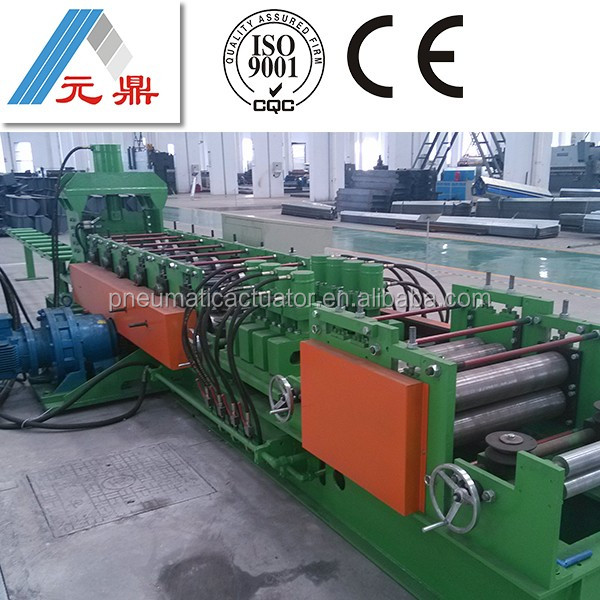 computer controlled steel decking making rolling line