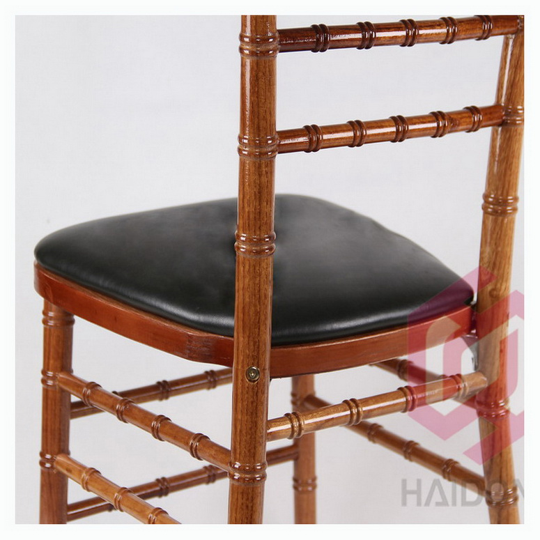 Black Color PU Artificial Leather Hard Seat Pad Cushion