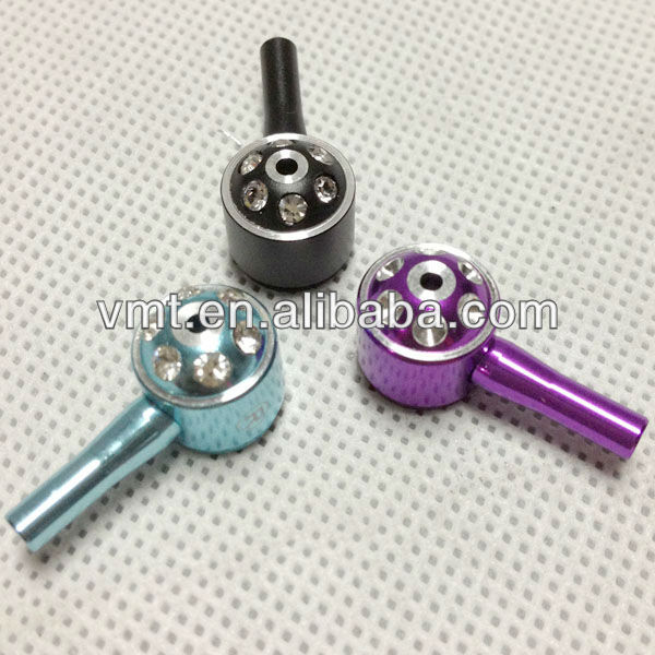 wholesale aluminum plug in earphone jack accessory earphone parts