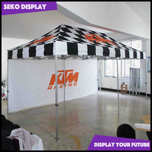 Popup PVC tent for stretch gazebo canopy
