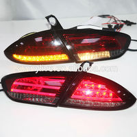 For Seat LEON LED Tail Lamp LED Rear Lights 2009-2012 Year Red Color SN