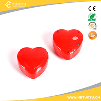 Heart shape voice recorder for reborn baby and plush toy