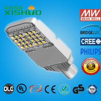 Aluminum material high lumen 90w integrated solar led street light outdoor with CE RoHs meanwell