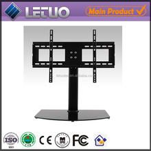 New model LED outdoor modern LCD glass TV stand free standing TV stand