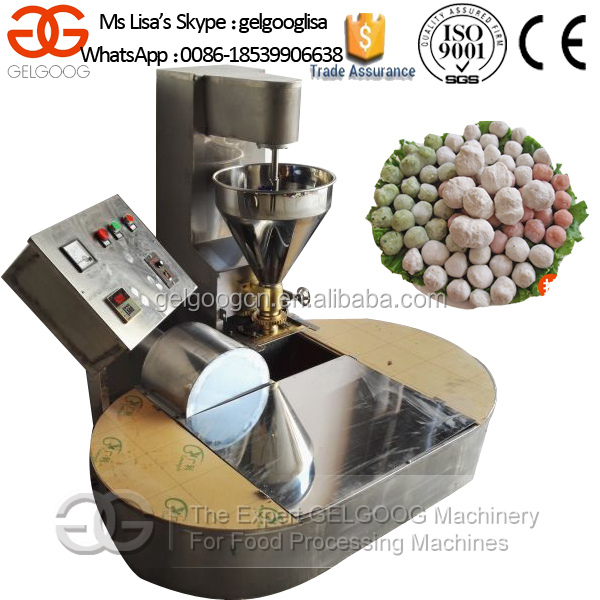 Food Stuffed Beef Fish Ball Forming Machine/Commercial Meatball Making Machine