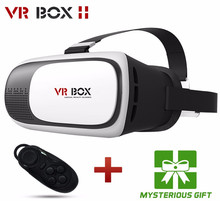 2016 Google cardboard VR BOX II 2.0 VR 3D Glasses For 3.5 - 6.0 inch Smartphone+Bluetooth Controller 1.0