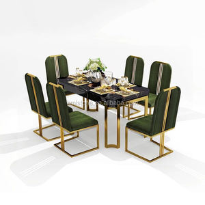 Luxury dining table set with dining chair