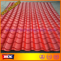 steel metal color copper colored metal roof cheap price