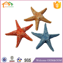 Factory Custom made best home decoration gift polyresin resin artificial starfish