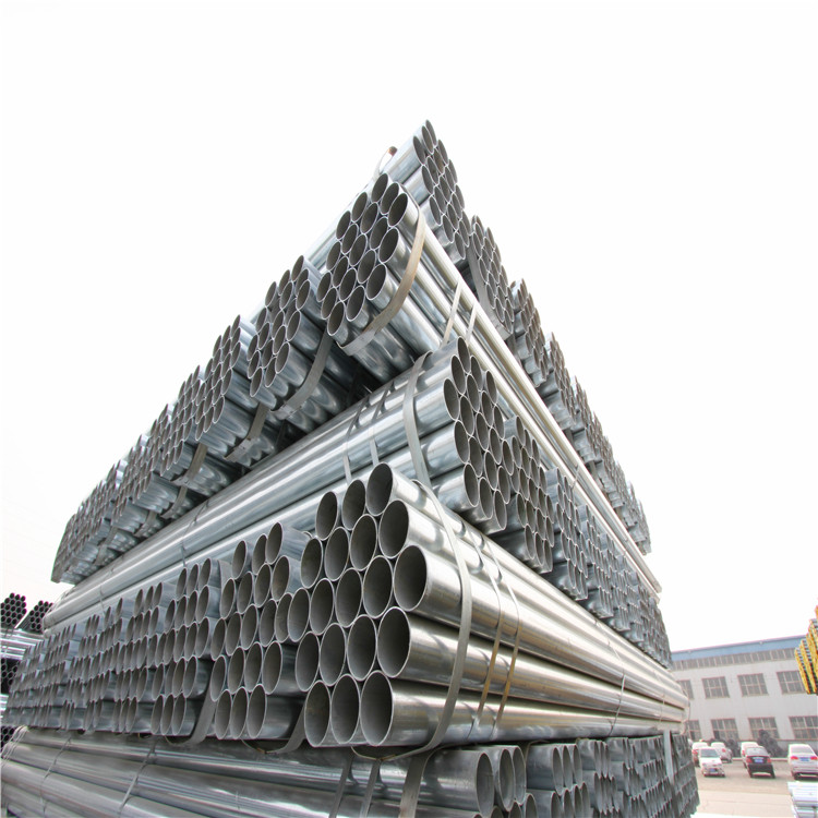 "processing by ourself ! zinc coated mill plant shelf 3""sch40 galvanized steel pipe"