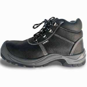 Brand MHR UK stylish suede cow leather S1P safety shoes with stainless steel toe cap and steel mid plate