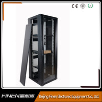 Finen 19 inch lockable front glass door 22U server rack