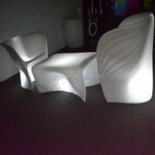 lighted sofa seats/led leisure chair/ glow party furniture