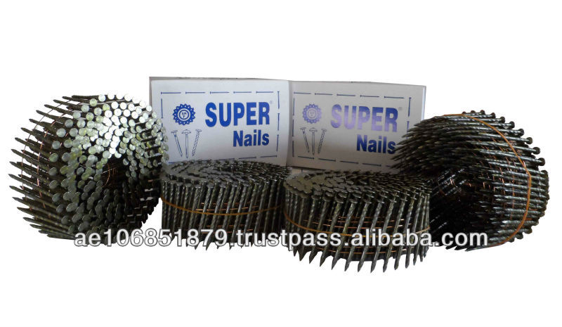 collated nails, common nails, roofing naiils
