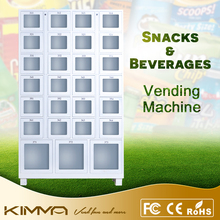 Fresh Flower Cupcake Combo Vending Machine With Best Quality